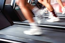 blurry treadmill