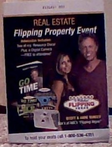 in the mail to a scott yancey flipping property event this is my